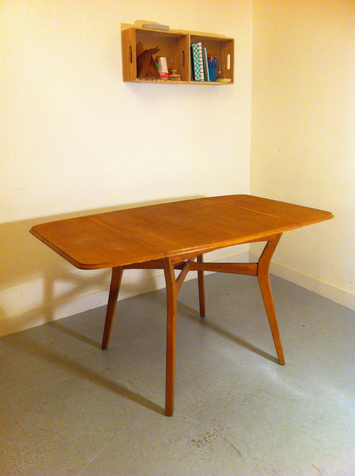 Table scandinave rallonge for Table rallonge scandinave
