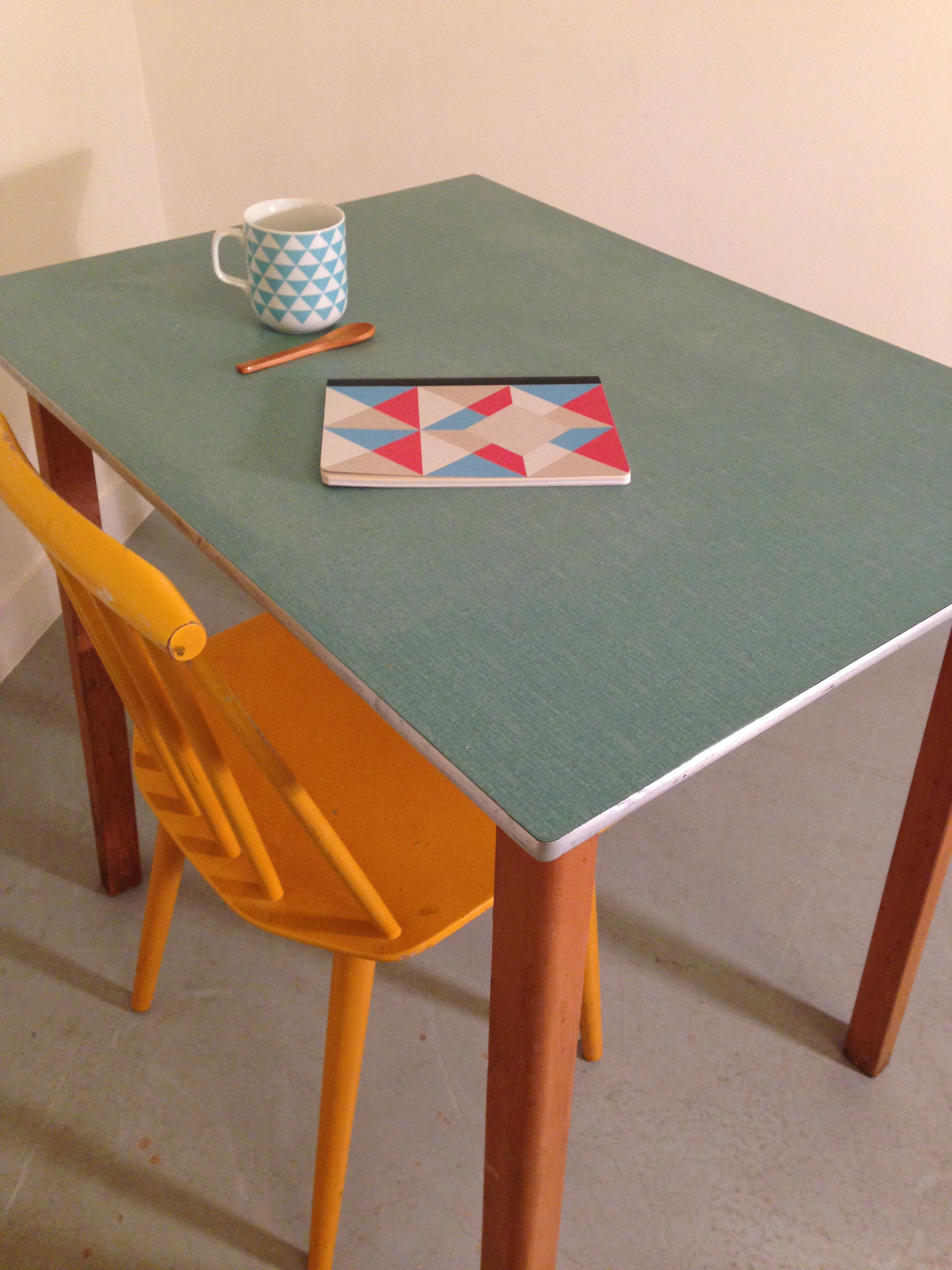 Table a manger formica for Table formica