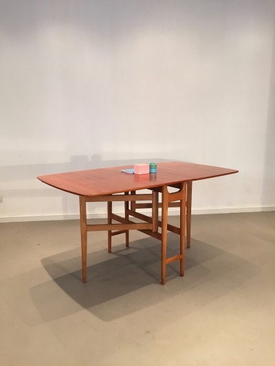 General store paris table manger pliante table en - Table a manger pliante ...